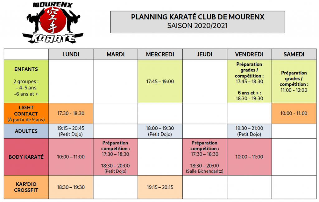 karateplanning2020